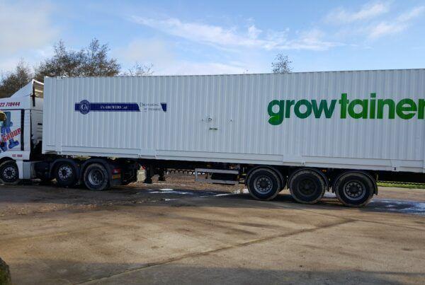 Growtainer truck